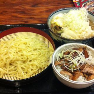 肉野菜つけ麺