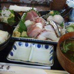 地魚の盛り合わせ定食