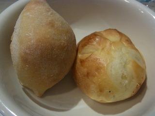 ライ麦のパンとミルクパン