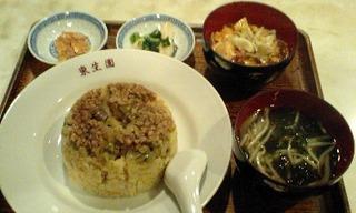 チャーハンとマーボ豆腐セット
