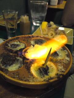 炎のエスカルゴバターオーブン焼き