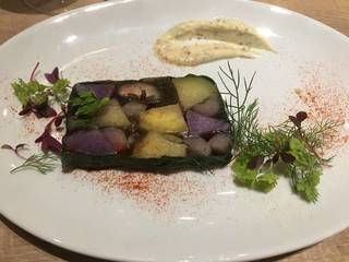 立川野菜のテリーヌ 秋の根菜たち