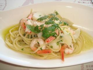 小海老のスパゲティ