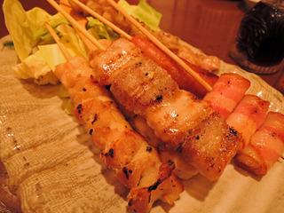 串焼き5種盛り