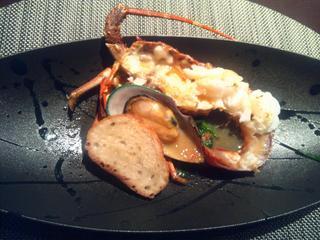 新鮮魚介焼