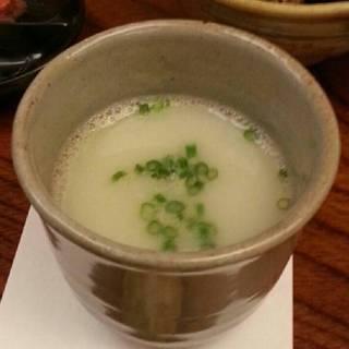 水たき鍋のスープ
