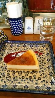 ケーキセット(チーズケーキとコーヒー)