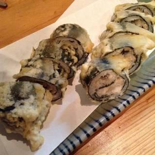 穴子と大和芋のふわふわ揚げ