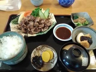 いのしし焼肉定食