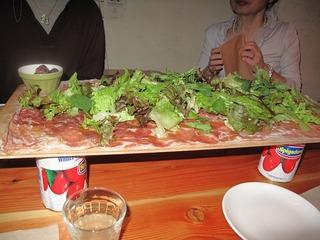ハムのサラダ