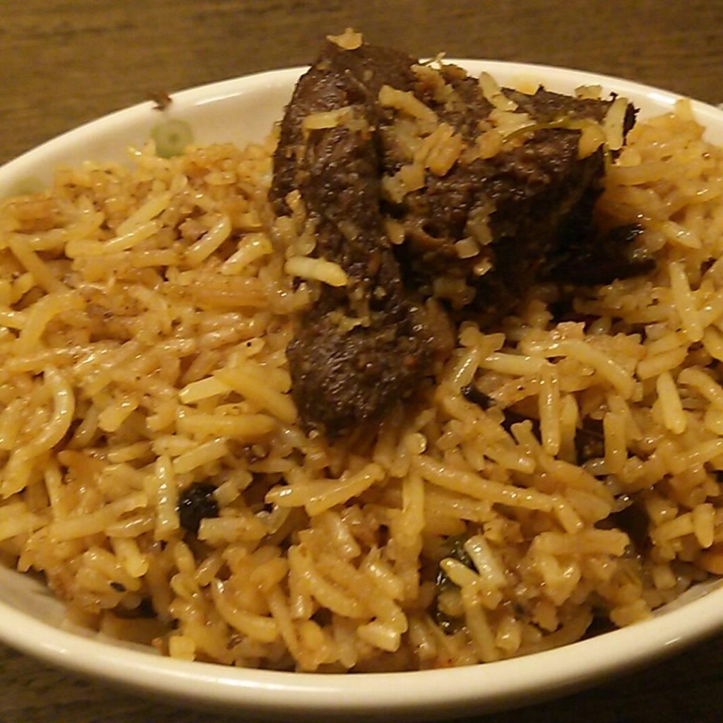 インドの特別の日の料理