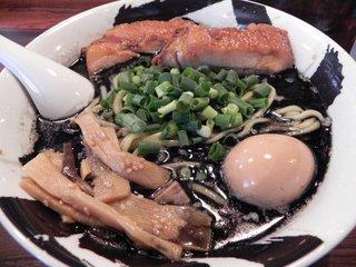 黒武骨ら~麺