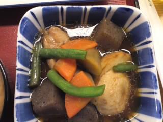 鶏根菜冶部煮