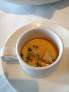 コースのスープ