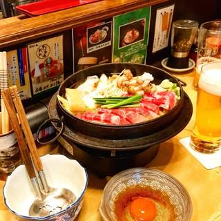 ランチすき鍋