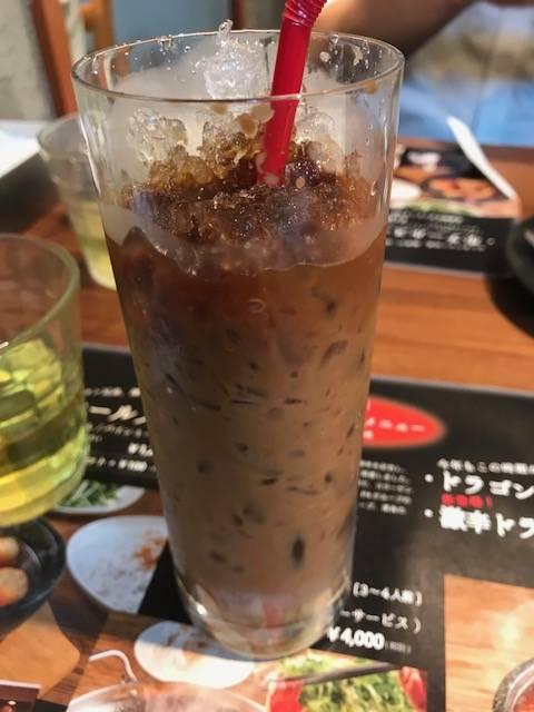 アイスべトナムコーヒー
