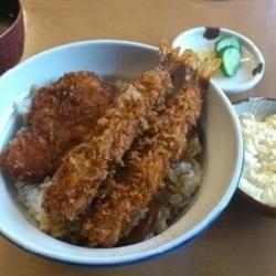 えびとんタルカツ丼