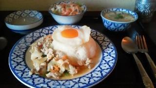 鶏バジル炒め