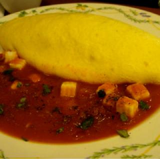 モッツァレラチーズのトマトソース