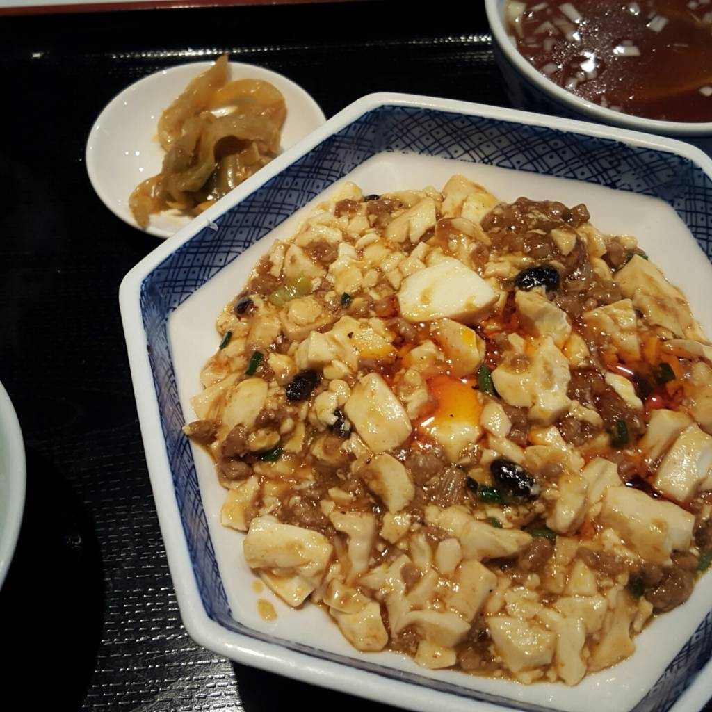陳麻婆豆腐定食