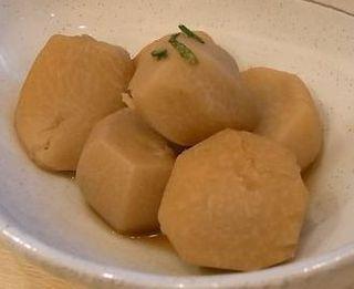 里芋 柚子香り煮