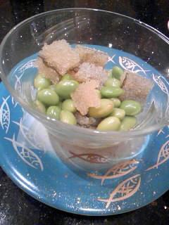 枝豆と子持ち昆布