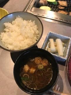 お食事セット(白米)