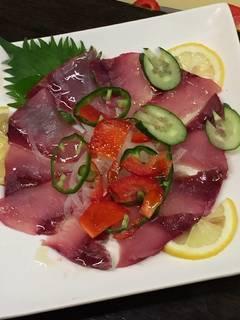 魚 カルパッチョ