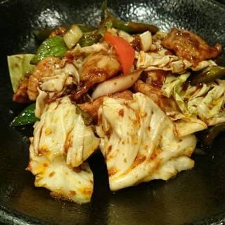 高原キャベツの回鍋肉