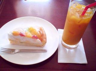 マンゴー&オレンジジュース