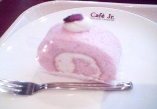 さくらのロールケーキ