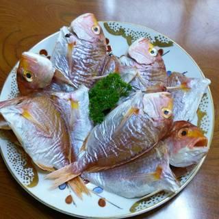 連子鯛の自家製干物