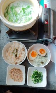 豆乳湯豆腐ランチ