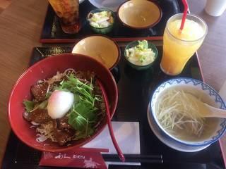 牛タン丼定食