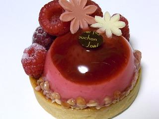 苺のバニラのババロアタルト