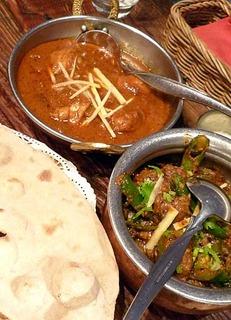 南インドの辛いマトンカレー