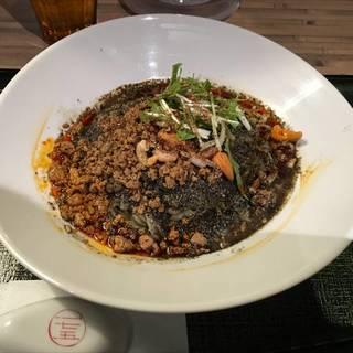 黒ごま汁なし担々麺