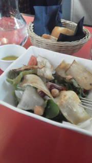 エリンギとひよこ豆のサラダ