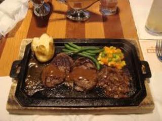 オリジナルハンバーグステーキ スペシャルセット