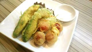 アボカドとトマトの天ぷら