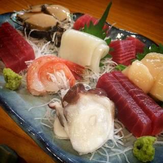 魚貝の盛合せ