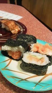 鮭マヨ明太子巻き