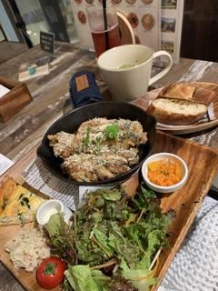 鶏モモマスタードソースオーブン焼き&キッシュセット