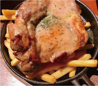 鶏ステーキ~塩レモンバターソース