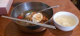 冷麺+たまごスープ