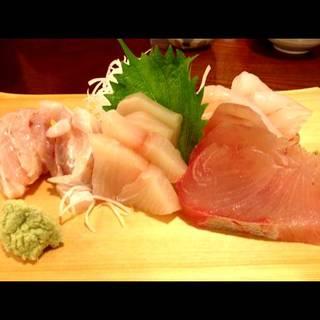 白身魚の御造り