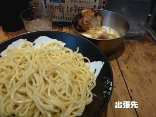 あじ玉つけ麺