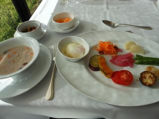 フレンチジャポネの朝食