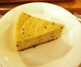 サツマイモと黒ゴマのクリームチーズケーキ