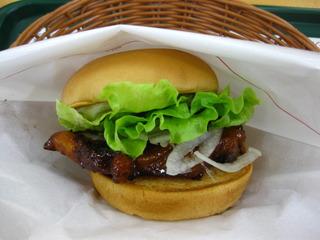 テリヤキチキンバーガー